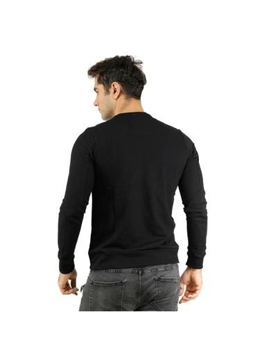 Phazz Brand Phazz Brand 1122Ob5103R83 Siyah Erkek Sweatshirt Siyah
